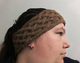Headband made of Alpaca - Celtic headband - twist headband - ear warmer
