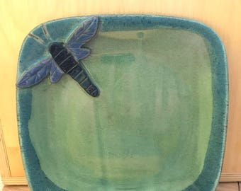Dragonfly Lunch Plate