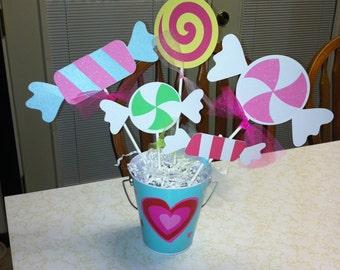 Candy Centerpiece sticks