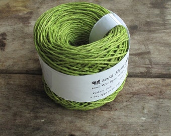 Lime 10/6 Hemp Yarn