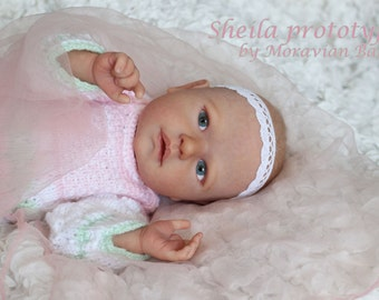 Sheila Reborn Doll kit by Lenka Polacek Hucinova >>kit only<< >>unpainted<<