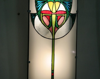 Applique Tiffany Art Nouveau stained glass Tiffany, Wall Sconce