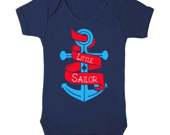 Little Sailor Baby Vest
