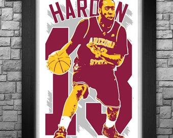 "JAMES HARDEN 11x17"" art print."