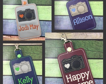 Personalized Tag - camera Tag - custom luggage Tag - camera bag tag - best gifts for her - photographer - gifts under 20- best gifts for her
