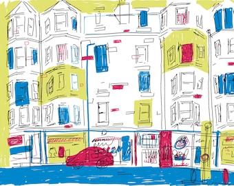 Tenement shops