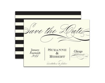 Beautiful Announcement Save the Date - 25 Count