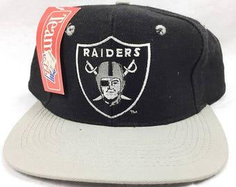 01b991f87 ... sale vintage los angeles raiders oakland raiders denim snapback cap new  with tags adjustable nwa eazy