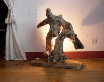 Driftwood shape giraffe sculpture