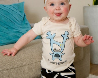 Strange Foo Baby T-Shirt - Organic Cotton ON SALE