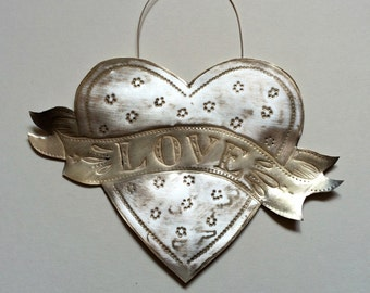 Inscribed Love Heart