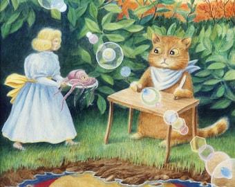 "Fine Art Giclee Print - ""Beauty Lives By Kindness"""