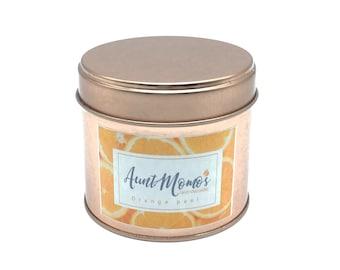 Orange Peel Scented Container Candle