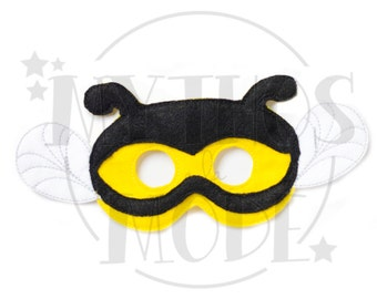 Bumble Bee Felt Mask