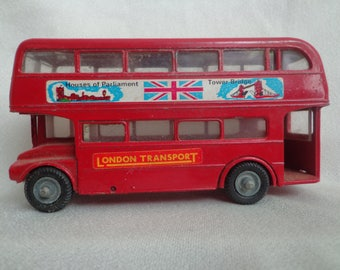 """Budgie A.E.C."""" Routemaster"""" 64 Seater Diecast Doubledecker London Bus, Made in England"""