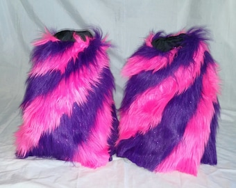 Festival fluffies! Furry leg warmers! Custom fluffies, choose your colors! Rave fluffies. EDC fluffies! Festival season!