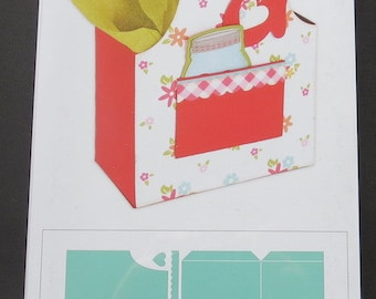 "Apron Box - Sizzix Bigz XL Die 6""X13.75"" By Lori Whitlock - 660295"
