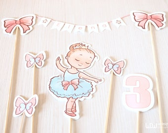 Paper CAKE TOPPER BABY_customized_Cake topper birthday_Baby Shower_Baby Shower Cake topper_It's a girl_Handmade in Italy