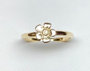 Forget me not ring.