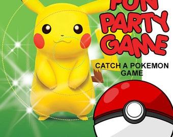 FUN PARTY GAME -Catch a Pokemon