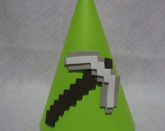 Minecraft Inspired Party Hats