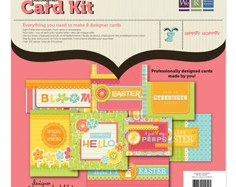 CLEARANCE SALE! We R Memory Keepers Hippity Hoppity Designer Card Kit