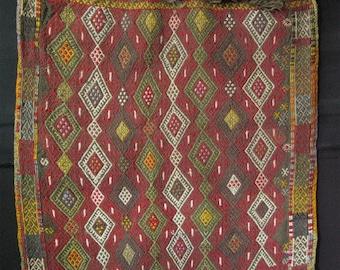 East Anatolian large cicim saddle bag