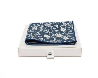 de MORÉ - Denim Blue Pocket square