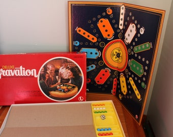 Aggravation Game, Complete, 1977, Board is 18 Inches Square, 24 Plastic Marbles and 1 Plastic Die