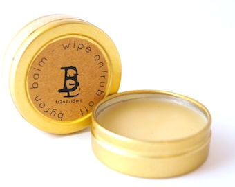Handmade Leather Balm - Byron Bound Leather Conditioner - Sustainable Leather Cream - Handmade in Byron bay