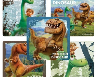 "25 The Good Dinosaur Stickers, 2.5"" x 2.5"" Each"