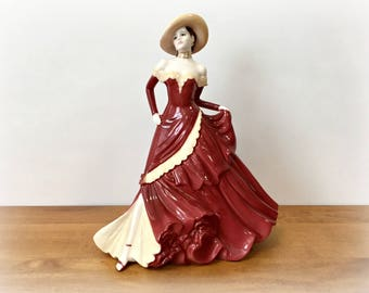 Coalport China Figurine Ladies of Fashion Marilyn