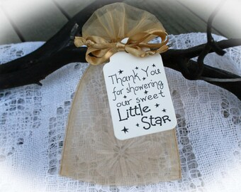 Twinkle Twinkle Baby Shower Favor | Twinkle Twinkle little star Shower Favor | Baby Shower Favor | Tags ONLY or  DIY Tags/Bags