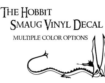 Le Hobbit Smaug vinyle autocollant