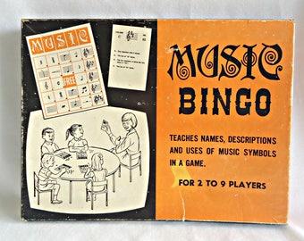 Vintage Music Bingo 1960's