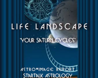 """Life Landscape Reading  """"Your Saturn Cycles"""""""