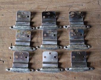 9 chrome hinges