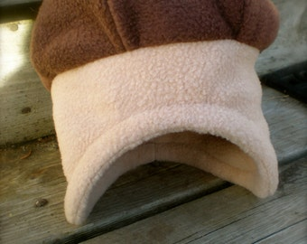 Fleece Acorn Hat - baby