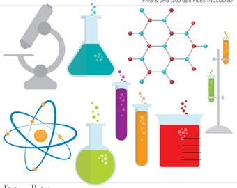 Commercial Use Clipart, Commercial Use Clip Art, Science Clipart, Science Clip Art, Laboratory Clipart, Commercial License, Mad Scientist