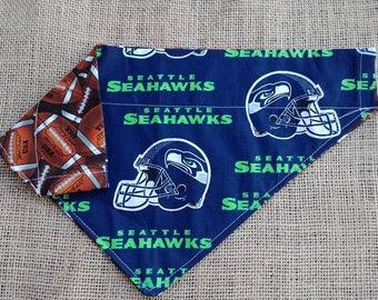 Seahawks Double Sided Collar Style Bandana