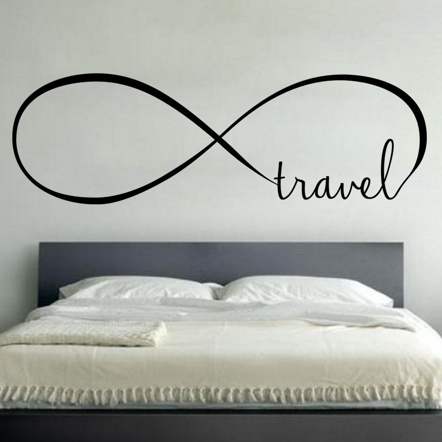 Infinity Love Quotes Infinity Travel Wall Vinyl Decal Sticker Family Kidsoom