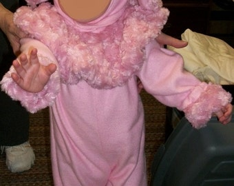 Custom Made Soft and Fuzzy Child Poodle Costume Any size and color