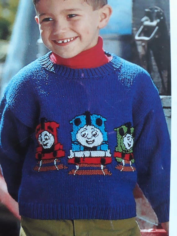 Thomas The Tank Engine And Friends Sweater Knitting Pattern Sirdar