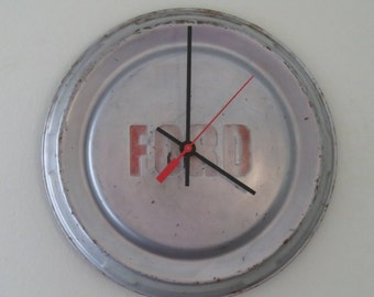 1959 Ford Truck Hubcap Clock No. 2555