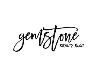 Beauty Blog Logo / Photography Logo and Watermarks / Modern Logo Design / Premade Logo Designer / Cursive Blog Header / Makeup Artist Logo