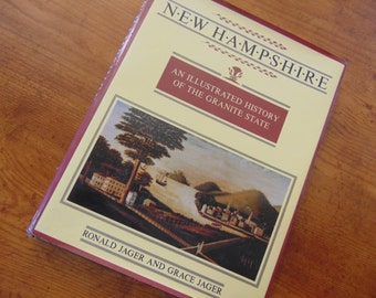 New Hampshire , Ronald & Grace Jager ,  1983  ,Illustrated Guide to the Granite State ,  OOP
