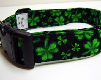 Doodlebug Dud's Luck of the Irish Clover Collar