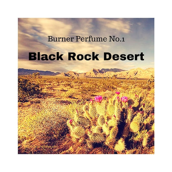 Burner Perfume No.1 Black Rock Desert: A Scent Portrait of the Black Rock Desert in Nevada, a Woody, Unisex, Perfume featuring desert plants