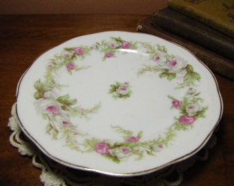 Vintage Floral Small Plate - Orleans Pattern by Zeh, Scherzer & Co - Bavaria