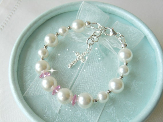 Baby Christening Gifts Baby Shower Gift Bracelet For Baptism